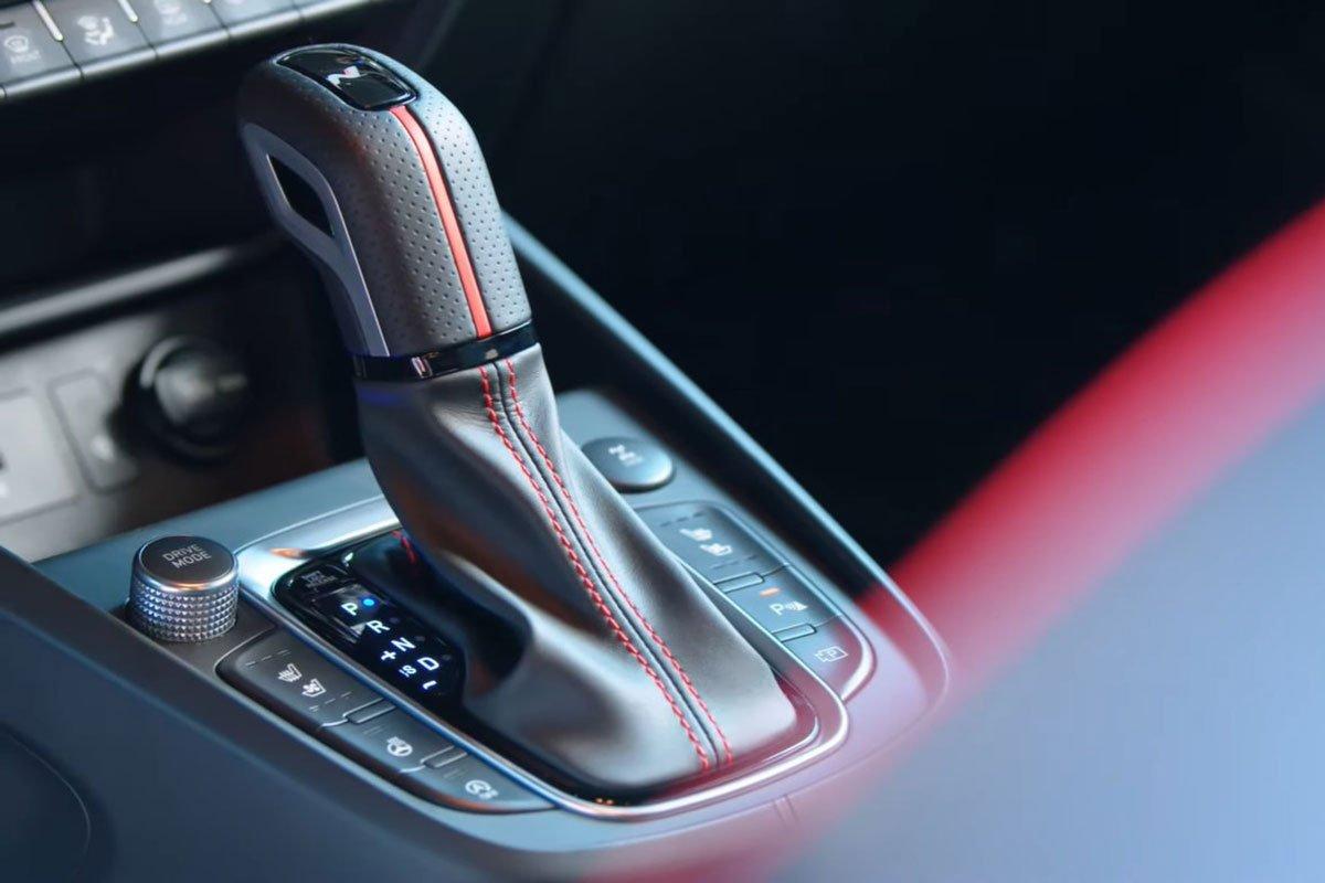 Ảnh Cần số xe Hyundai Kona 2021