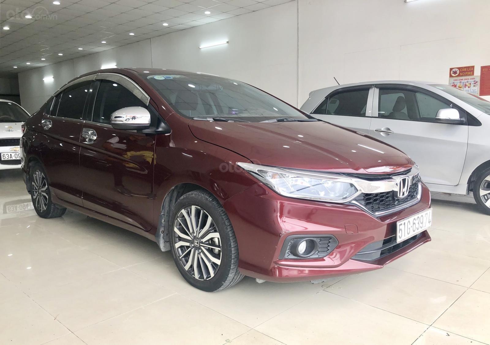 Honda City CVT 1.5 AT 2018, màu đỏ (2)