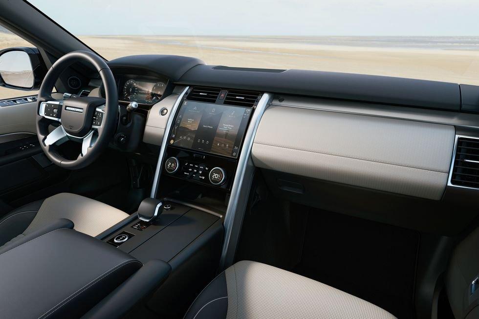 Land Rover Discovery 2021 nâng cấp nội thất đáng kể.