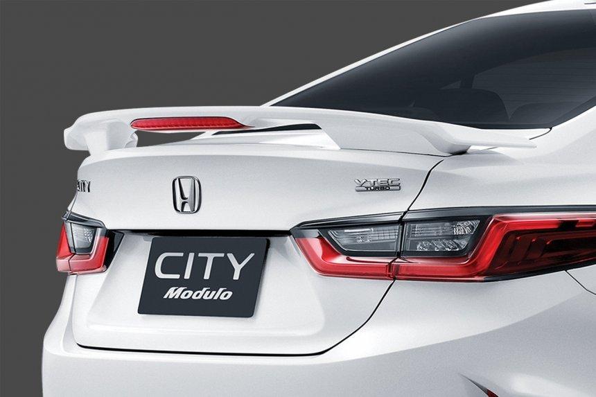 Honda City 2021 độ Modulo sẽ là lựa chọn bổ sung cực kỳ hấp dẫn.