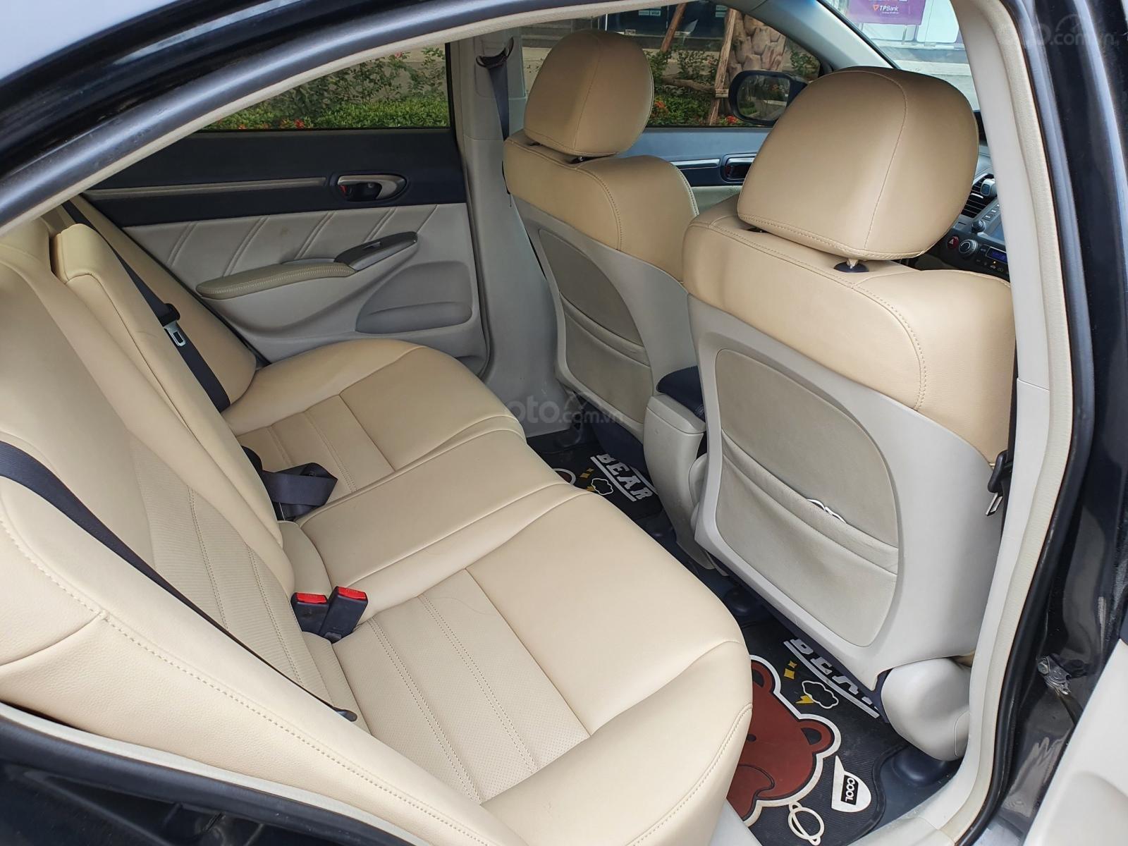 Bán xe Honda Civic 2.0 AT i-Vtec sản xuất năm 2007 màu đen chỉ việc lấy về đi, xe cực đẹp (13)