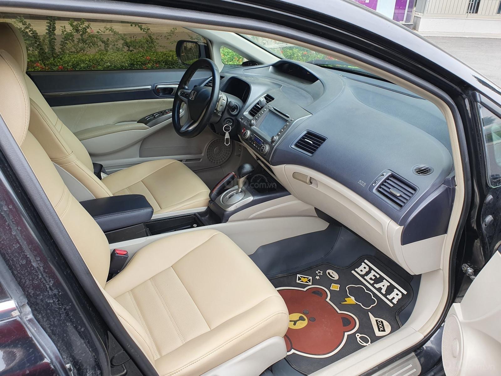 Bán xe Honda Civic 2.0 AT i-Vtec sản xuất năm 2007 màu đen chỉ việc lấy về đi, xe cực đẹp (11)