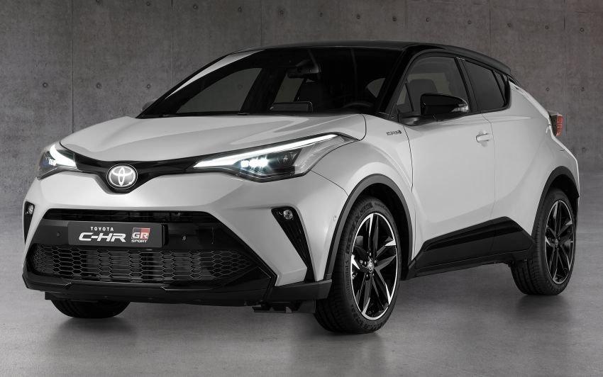 Chiều ý tay chơi, bản thể thao Toyota C-HR 2021 GR Sport được vén màn.
