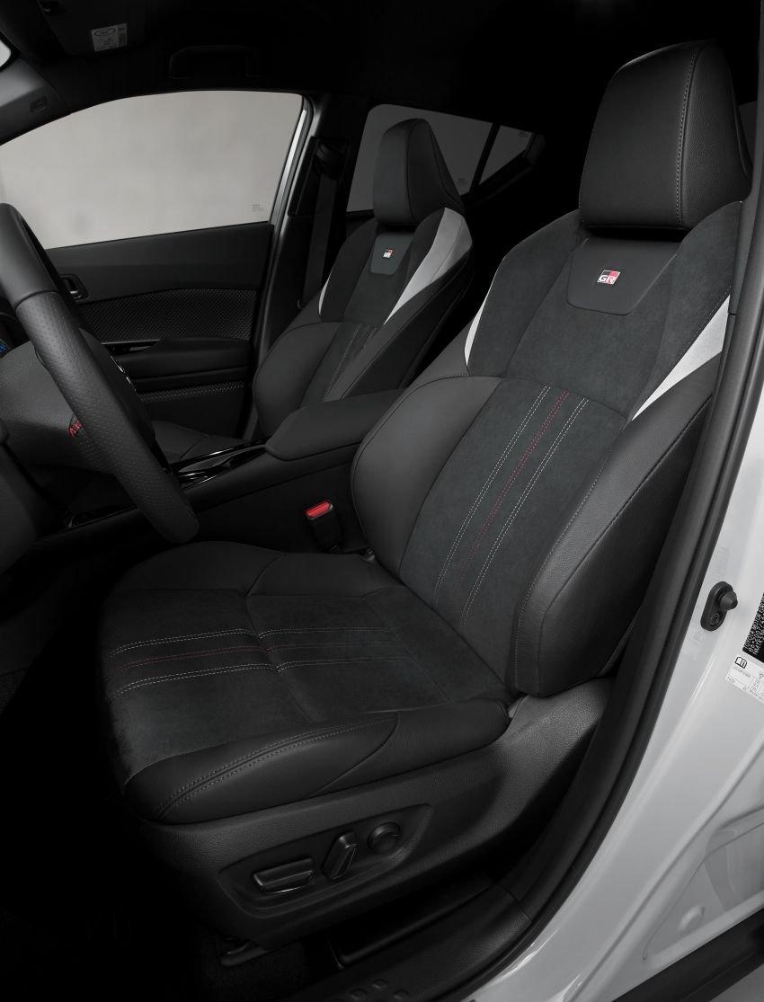 Toyota C-HR 2021 GR Sport hứa hẹn mang đến trải nghiệm lái tuyệt đỉnh.
