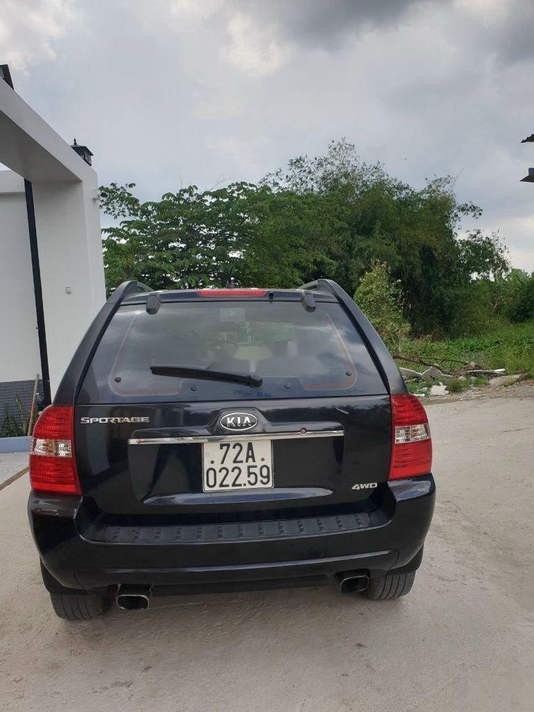 Bán xe Kia Sportage năm 2006, màu đen, nhập khẩu số sàn (3)