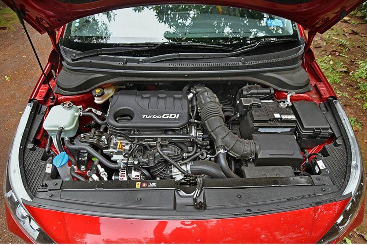 Ảnh Động cơ xe Hyundai Accent 2021