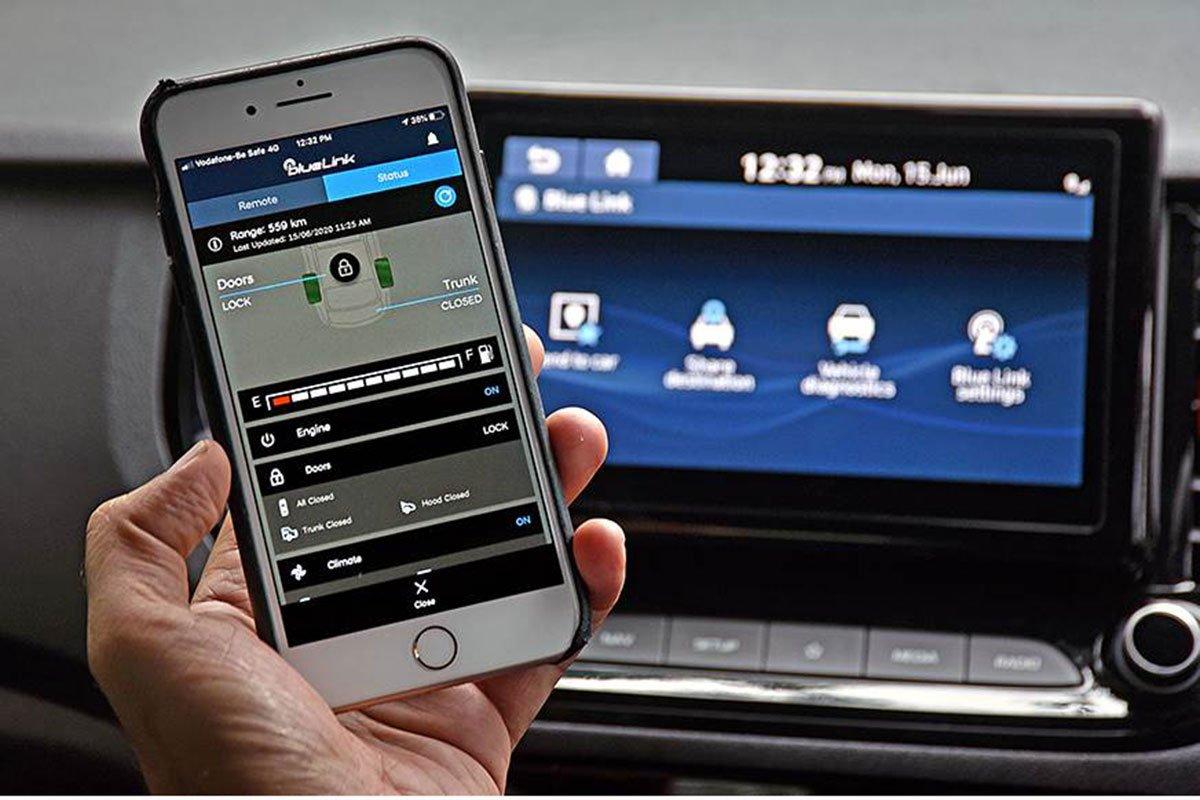 Ảnh Kết nối ứng dụng xe Hyundai Accent 2021