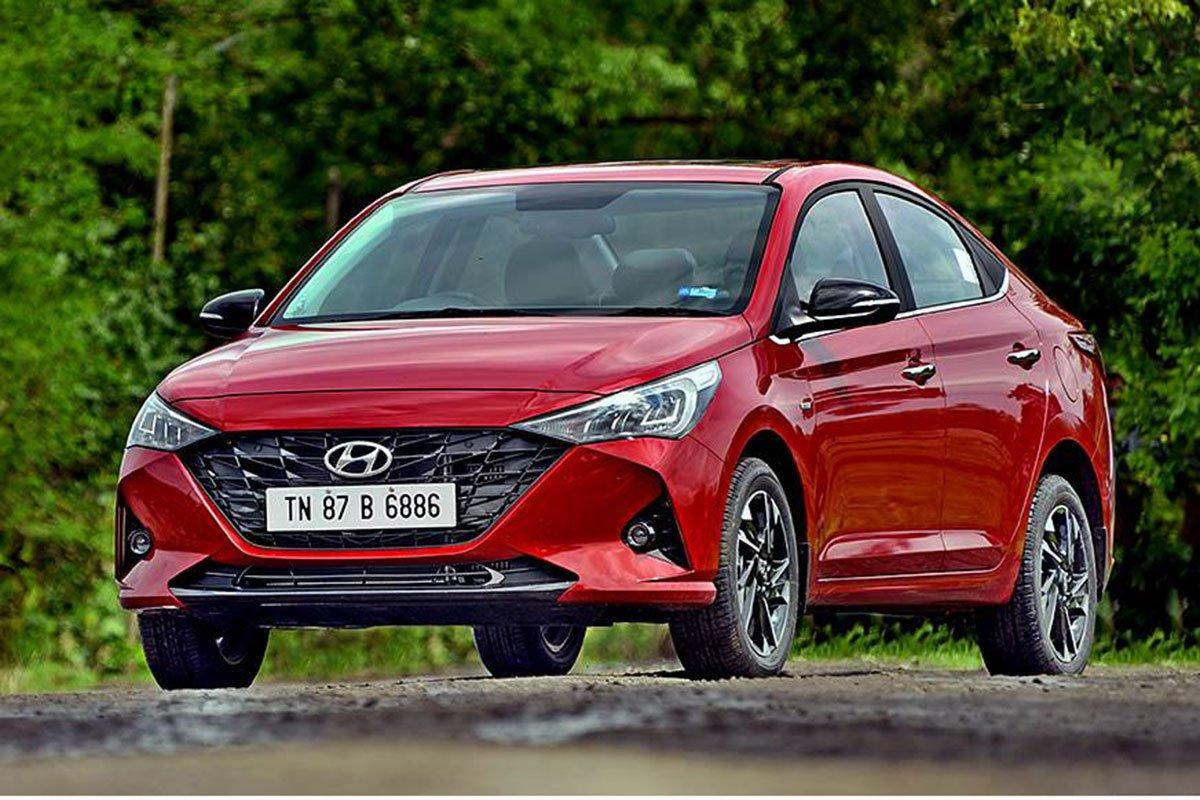 Ảnh đầu xe Hyundai Accent 2021