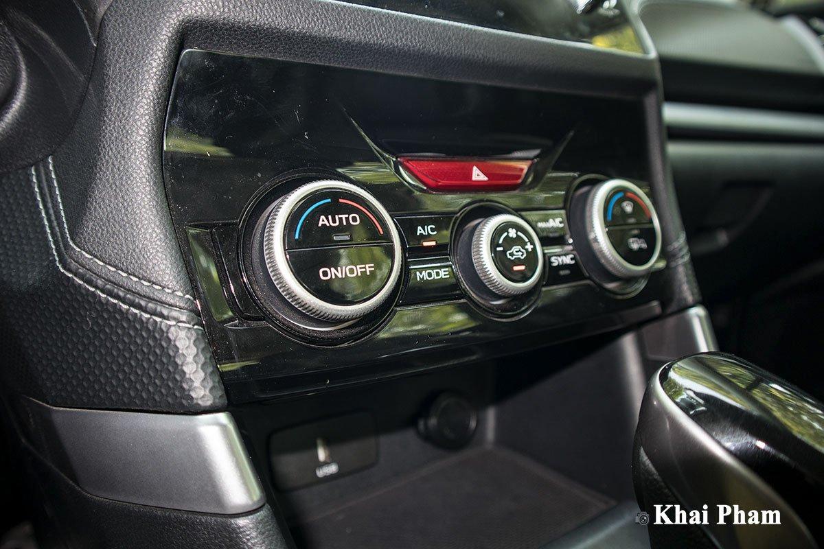 Ảnh Điều hòa xe Subaru Forester 2020