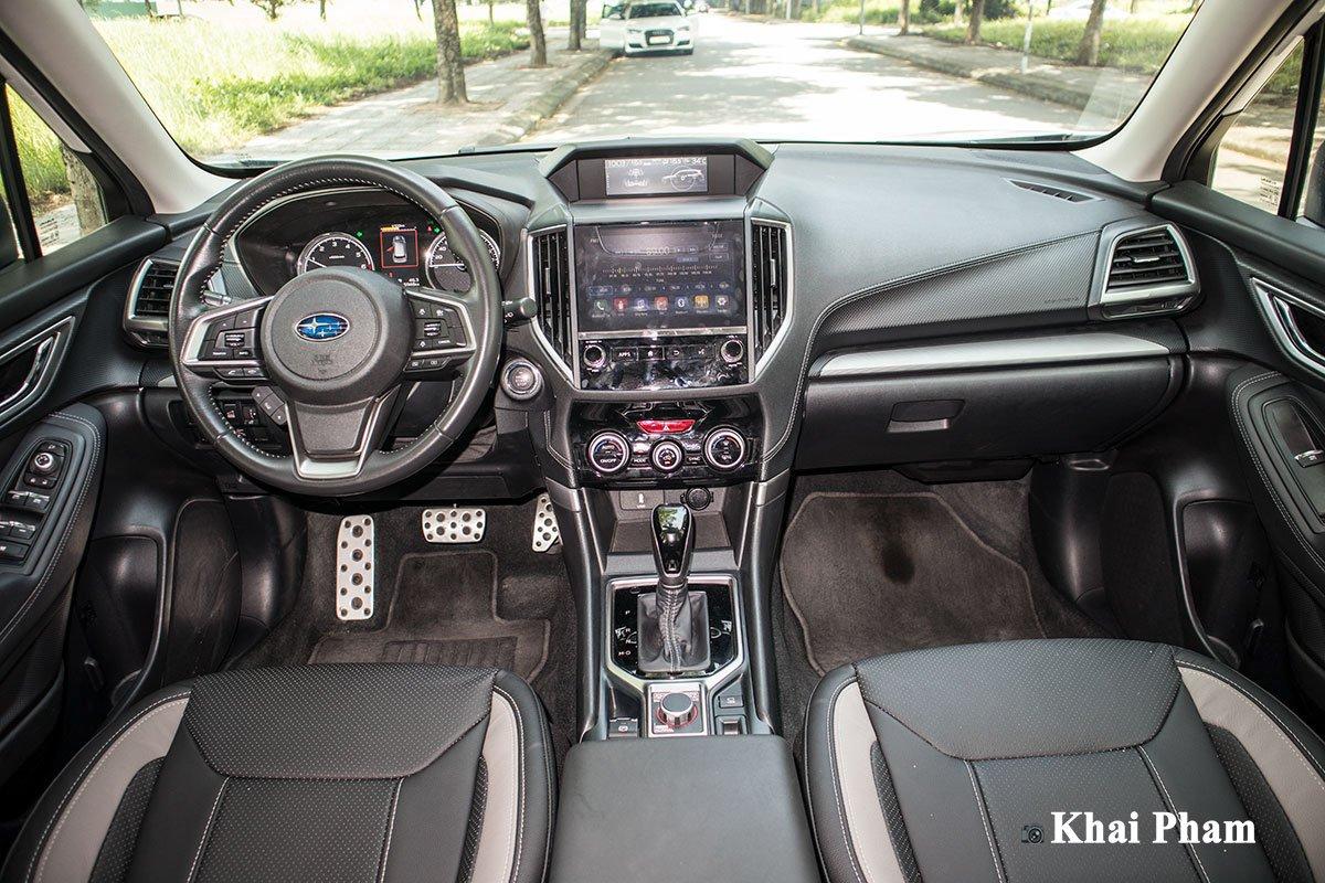 Ảnh Khoang lái xe Subaru Forester 2020