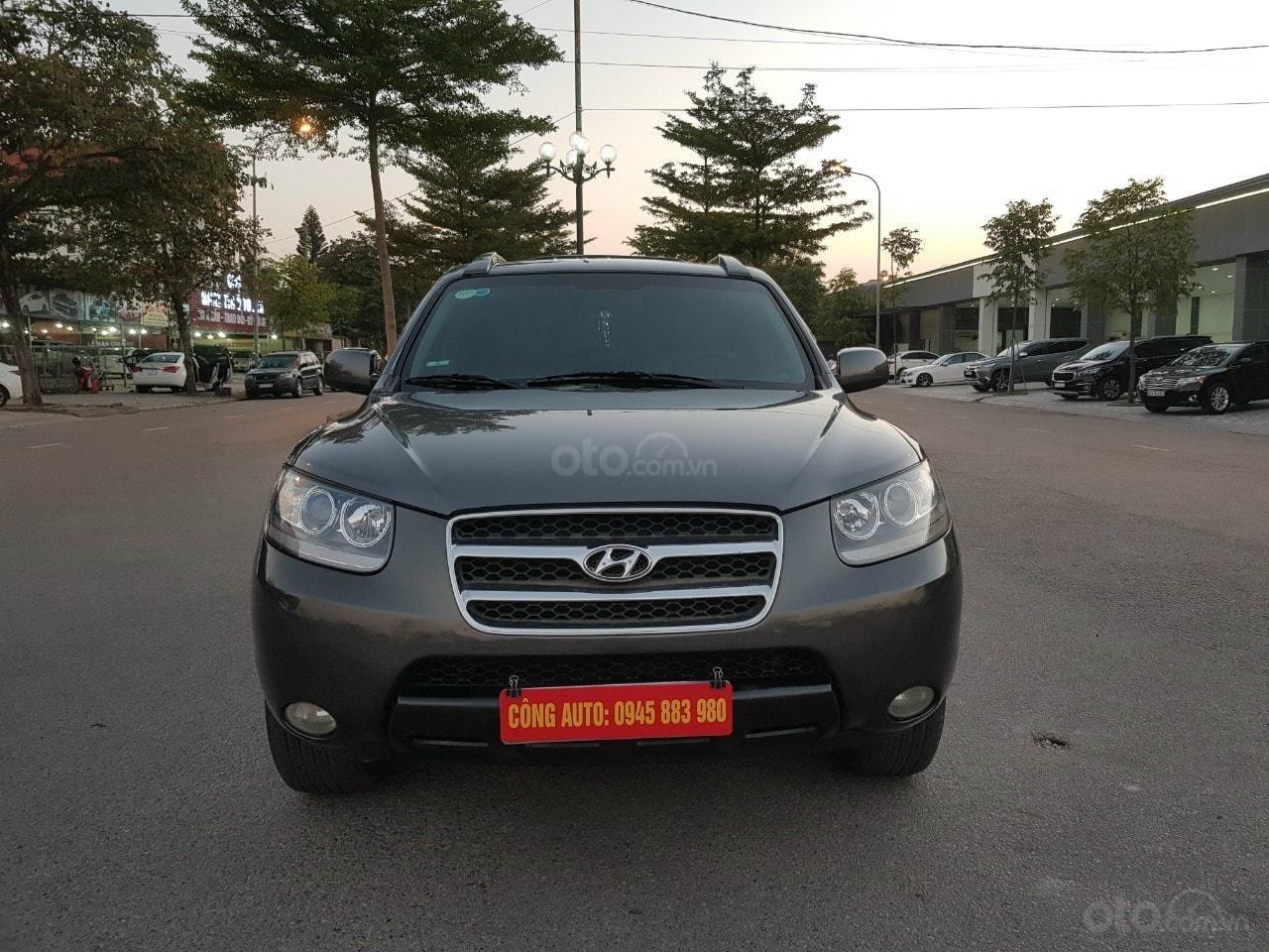 Bán xe Hyundai Santa Fe đời 2007, nhập khẩu, máy dầu (1)