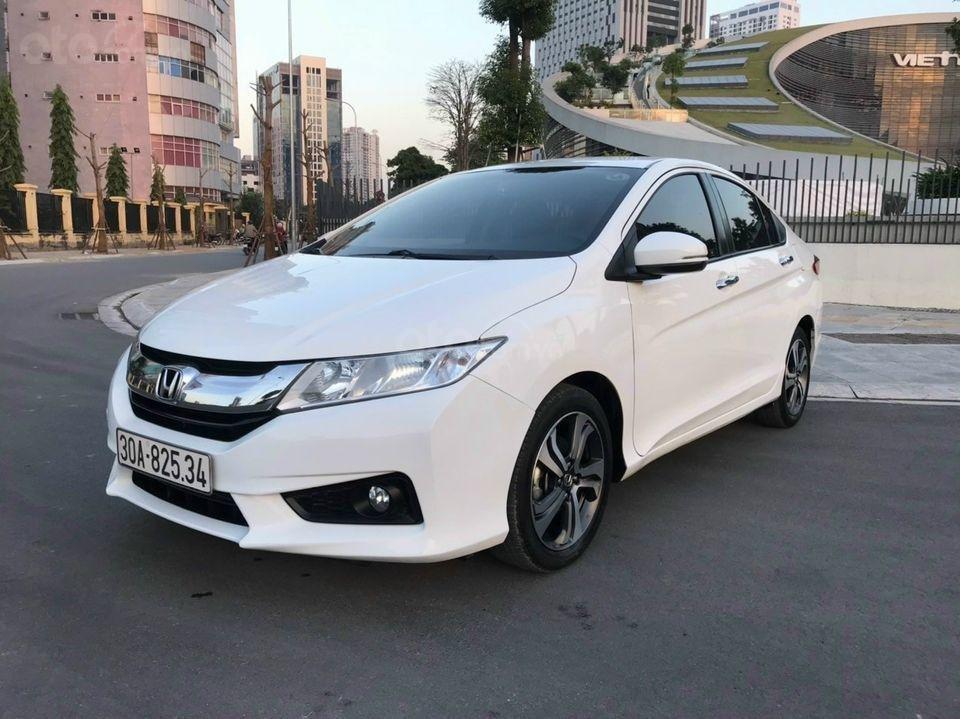 Cần bán xe Honda City đời 2015, màu trắng (3)