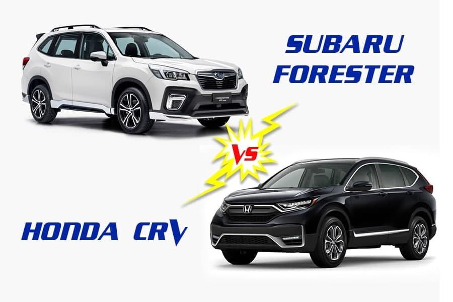 So sánh xe Honda CR-V 2020 và Subaru Forester 2020: Hai CUV ngập tràn công nghệ tại Việt Nam a1