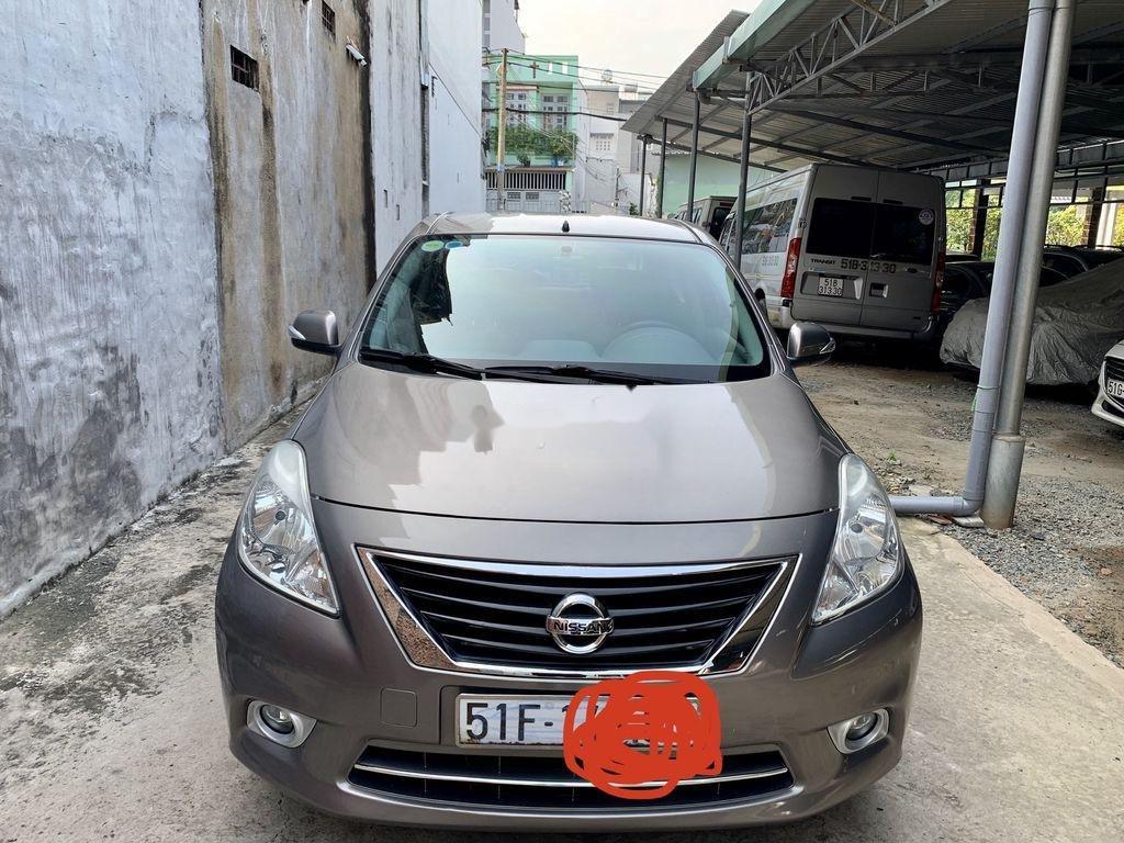 Bán xe Nissan Sunny đời 2014, màu xám còn mới (10)
