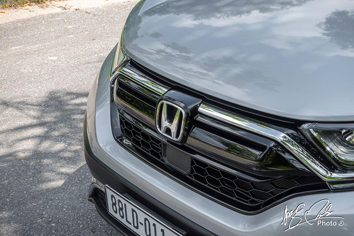 Lưới tản nhiệt mới của Honda CR-V L 2020-2021.
