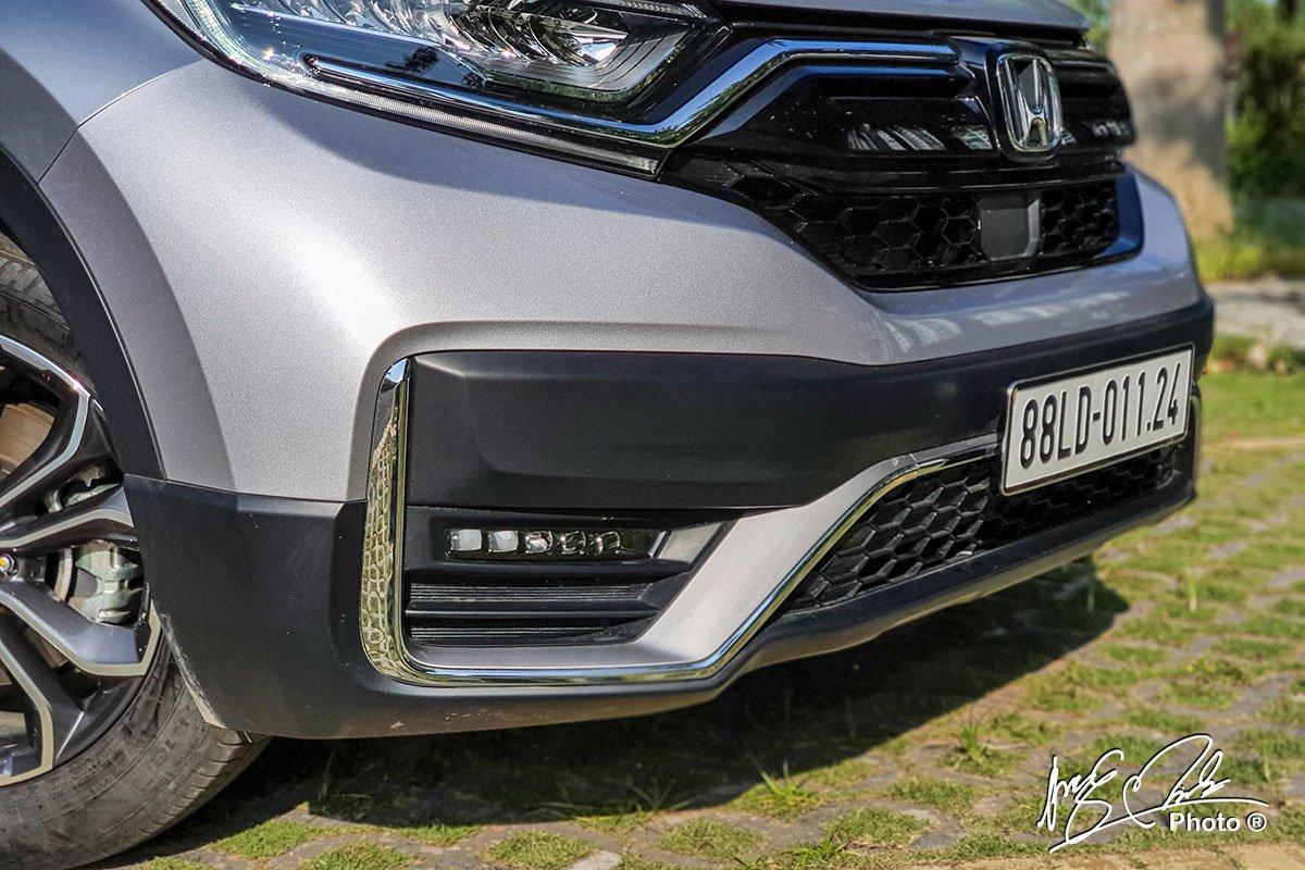Cản trước được làm mới trên Honda CR-V L 2020-2021.