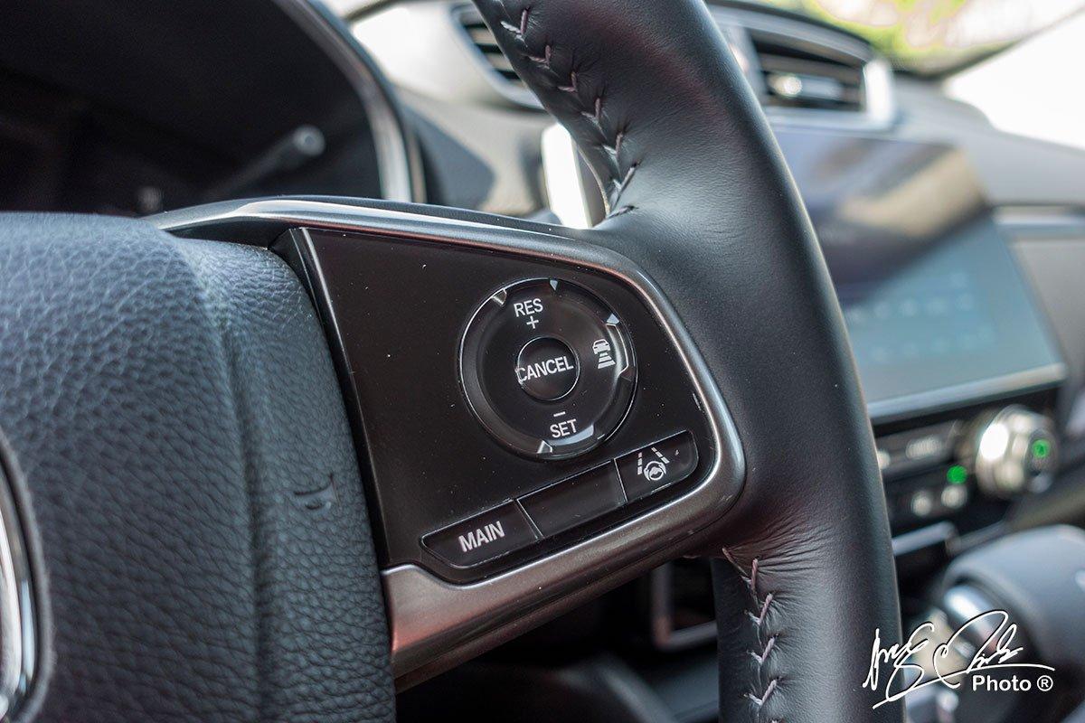 Hệ thống kiểm soát hành trình thích ứng trên Honda CR-V L 2020-2021.