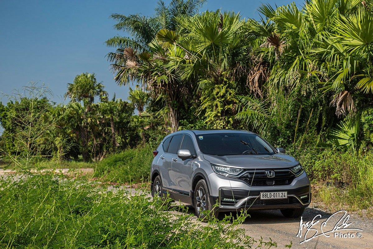 Đánh giá xe Honda CR-V L 2020-2021 thiết kế.
