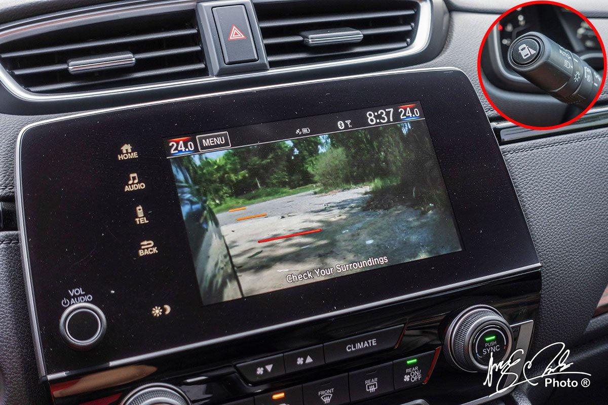 Hệ thống LaneWatch trên Honda CR-V L 2020-2021.