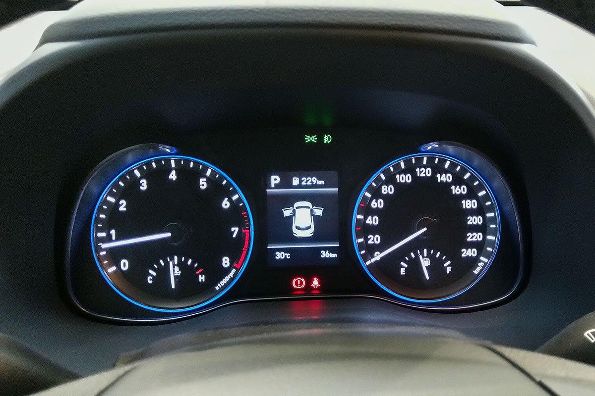 Ảnh Đồng hồ xe Hyundai Kona 2020