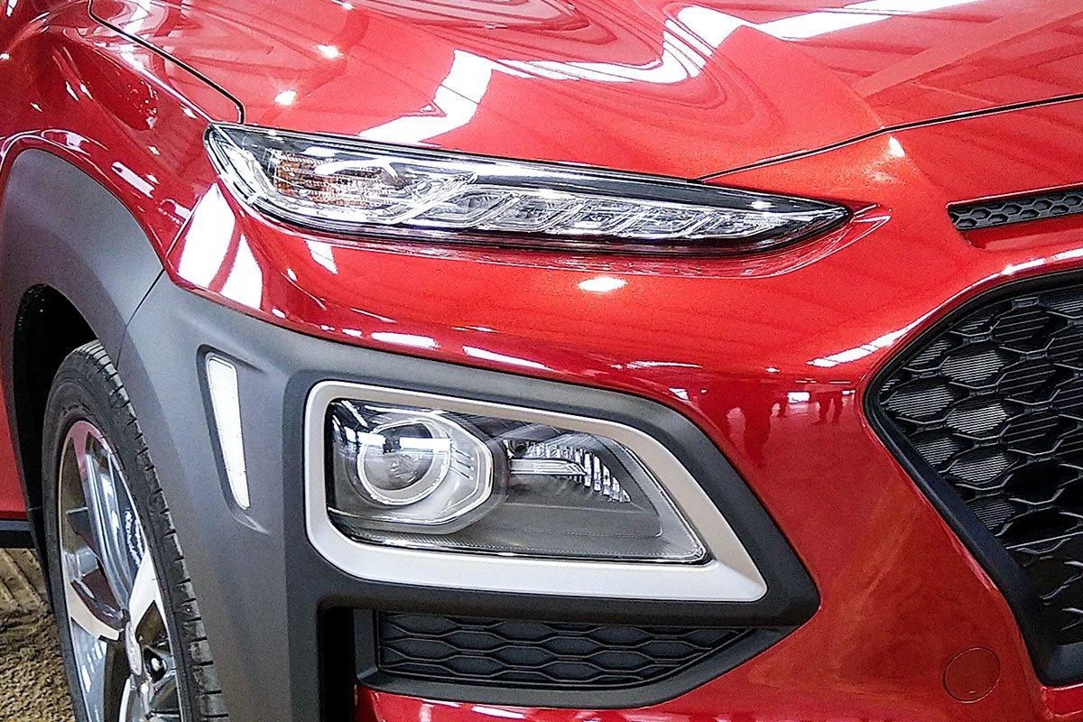 Ảnh Đèn pha xe Hyundai Kona