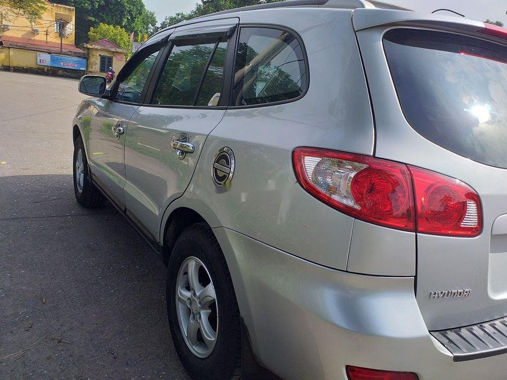 Bán xe Hyundai Santa Fe đời 2008, màu bạc, xe nhập chính chủ (3)