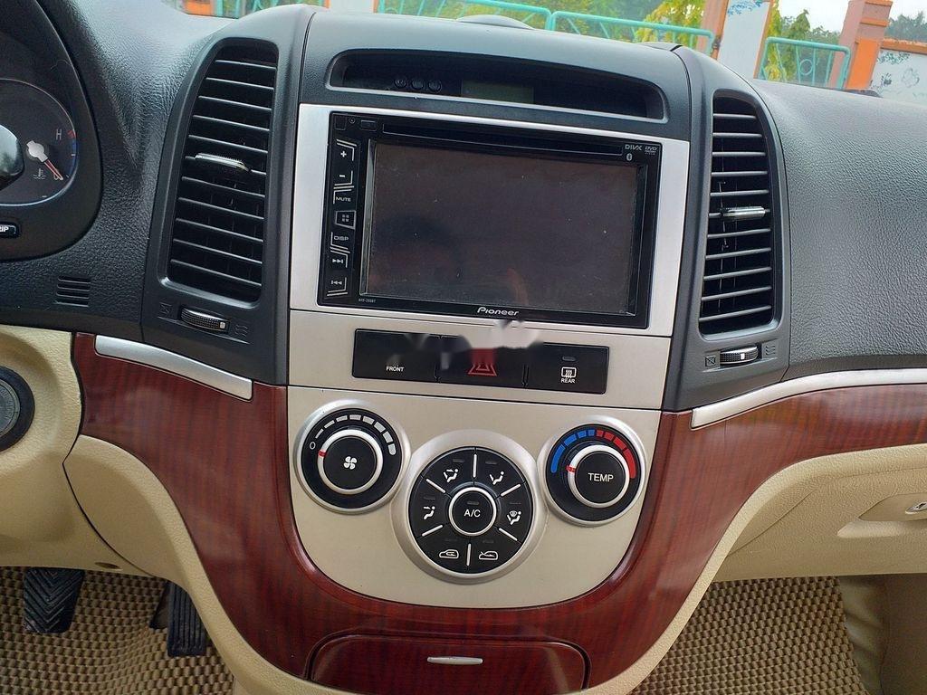 Bán xe Hyundai Santa Fe đời 2008, màu bạc, xe nhập chính chủ (7)