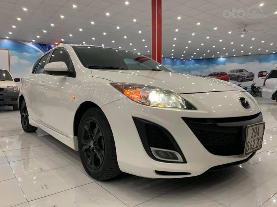 Mazda 3 SX 2009, nhập khẩu Đài Loan, màu trắng (1)