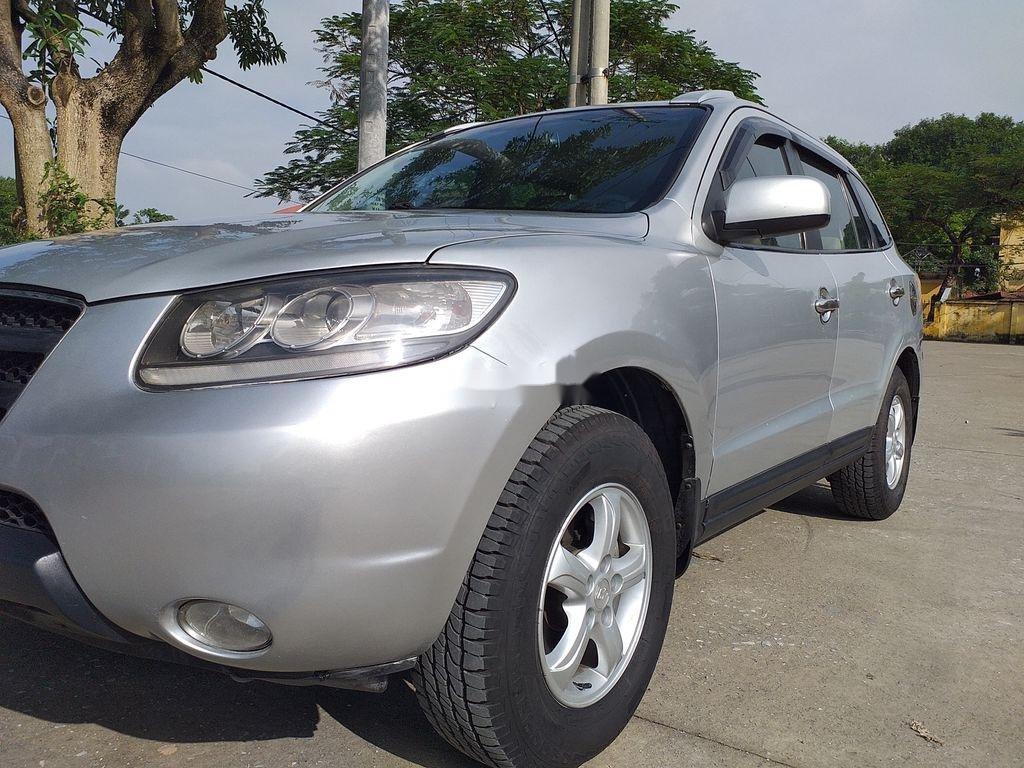 Bán xe Hyundai Santa Fe đời 2008, màu bạc, xe nhập chính chủ (4)