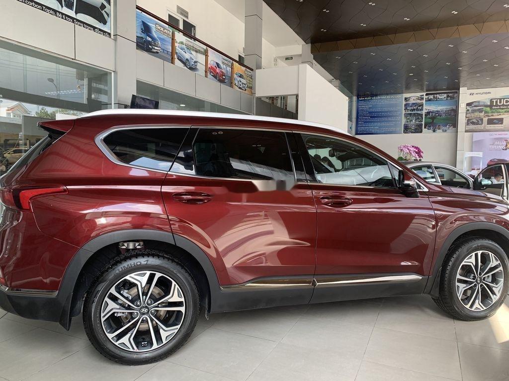 Bán ô tô Hyundai Santa Fe năm 2020, màu đỏ (5)