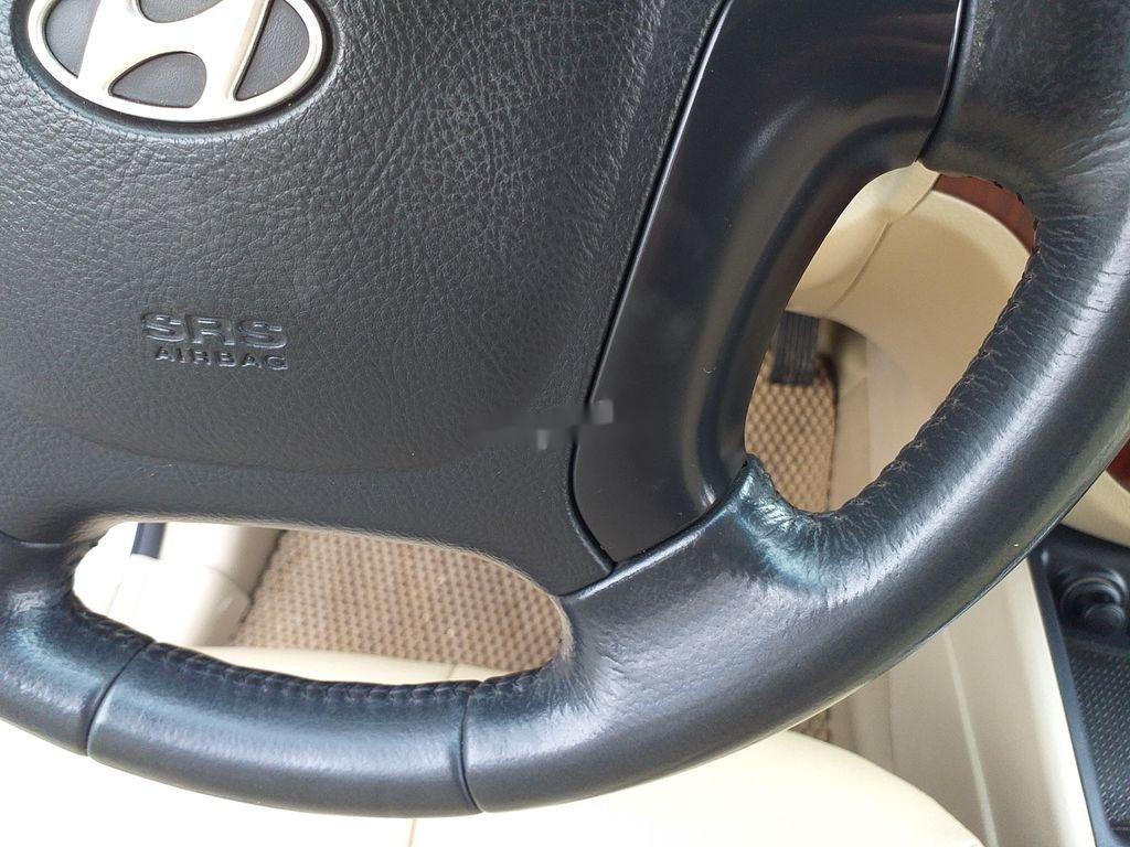 Bán xe Hyundai Santa Fe đời 2008, màu bạc, xe nhập chính chủ (8)