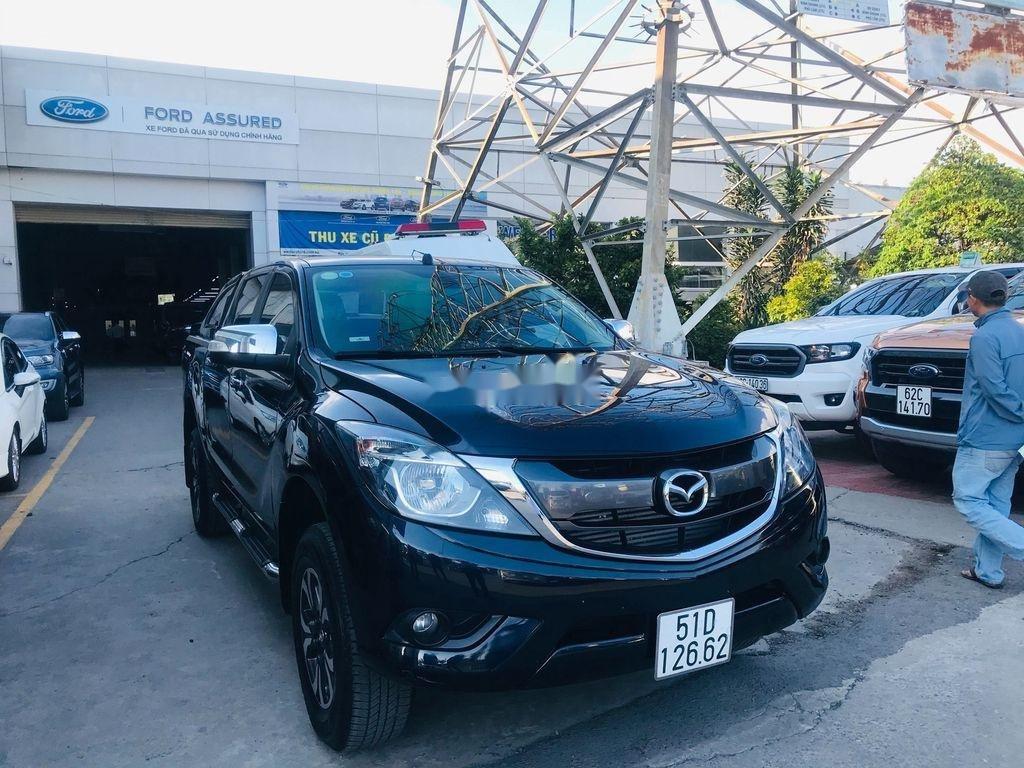 Chính chủ bán xe Mazda BT 50 năm 2017, màu đen, xe nhập  (2)
