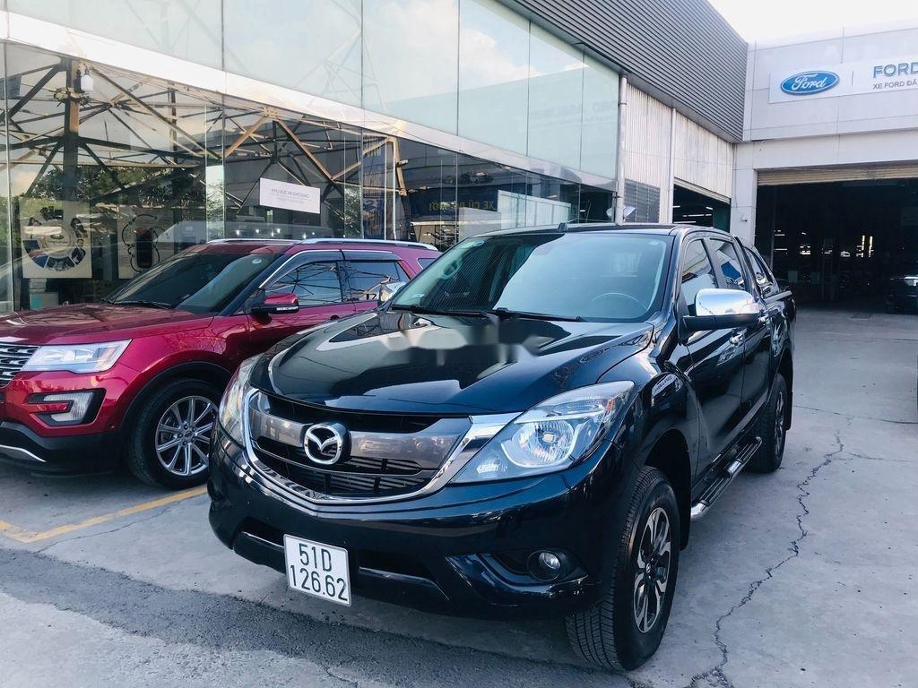 Chính chủ bán xe Mazda BT 50 năm 2017, màu đen, xe nhập  (3)