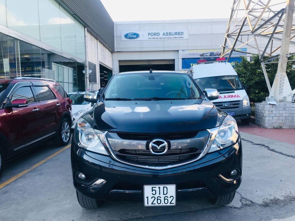 Chính chủ bán xe Mazda BT 50 năm 2017, màu đen, xe nhập  (1)