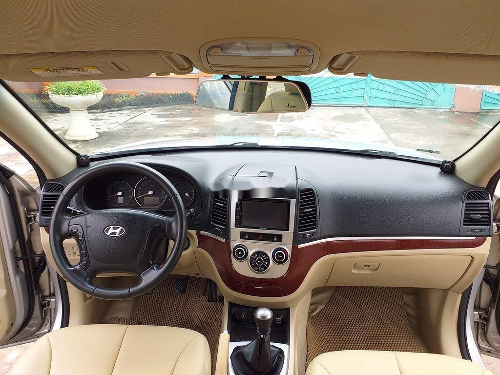 Bán xe Hyundai Santa Fe đời 2008, màu bạc, xe nhập chính chủ (6)