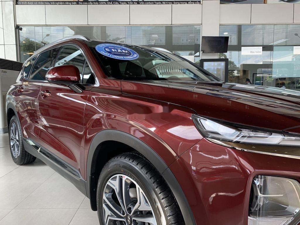 Bán ô tô Hyundai Santa Fe năm 2020, màu đỏ (4)