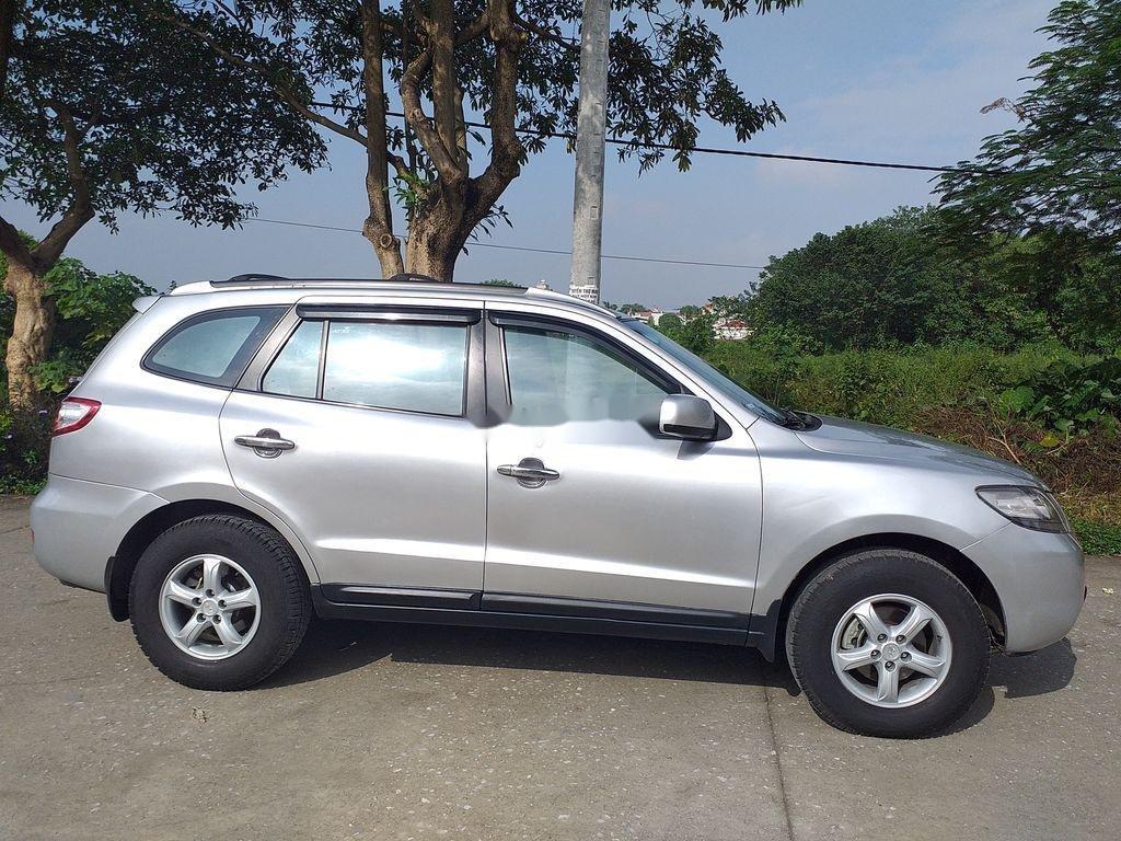 Bán xe Hyundai Santa Fe đời 2008, màu bạc, xe nhập chính chủ (1)