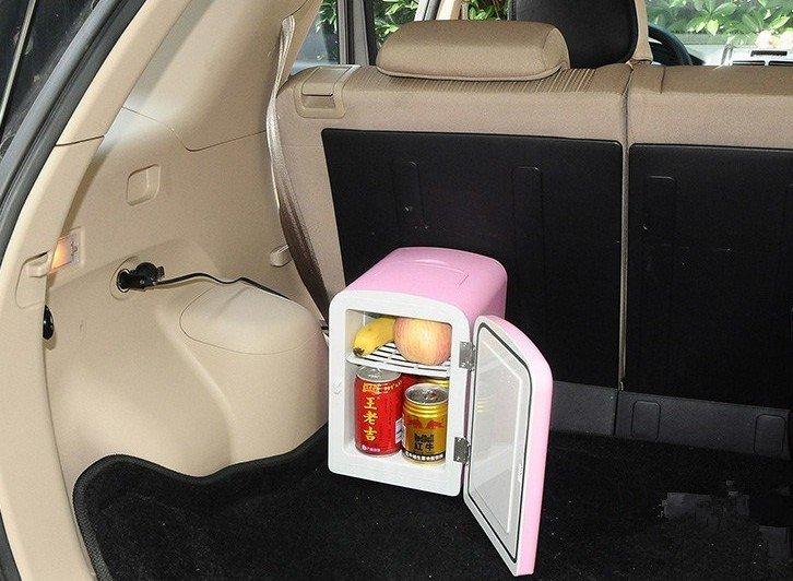 Tủ lạnh ô tô.