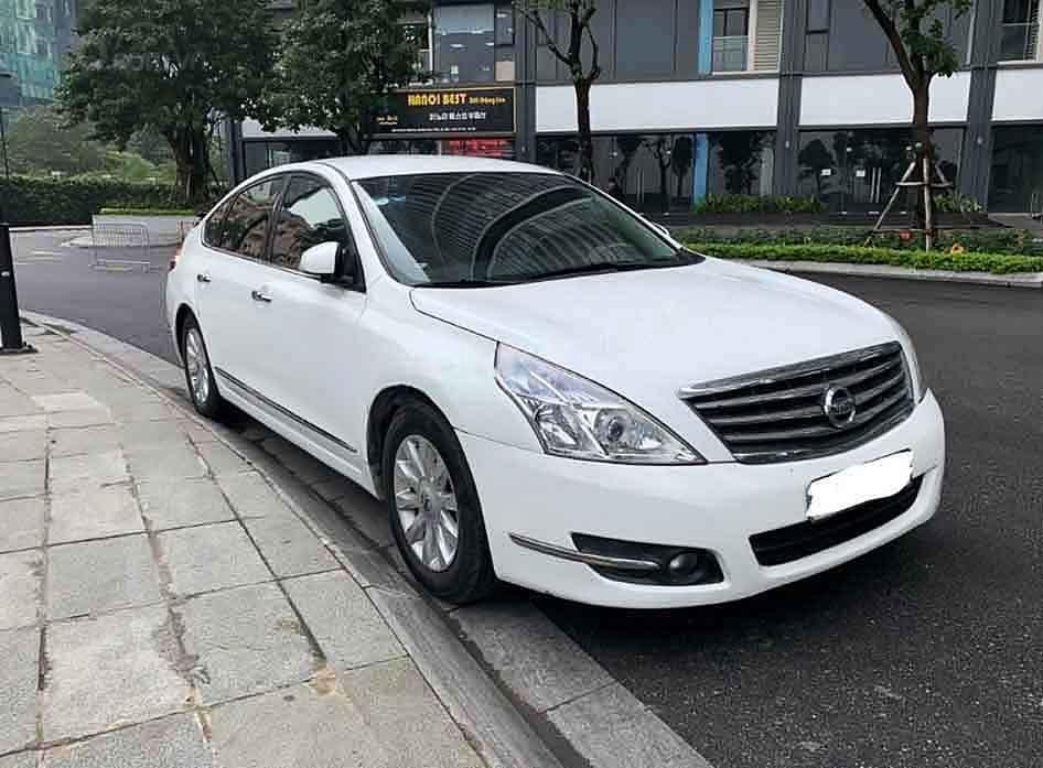 Xe Nissan Teana đời 2009, màu trắng, xe nhập chính chủ, giá 370tr (1)