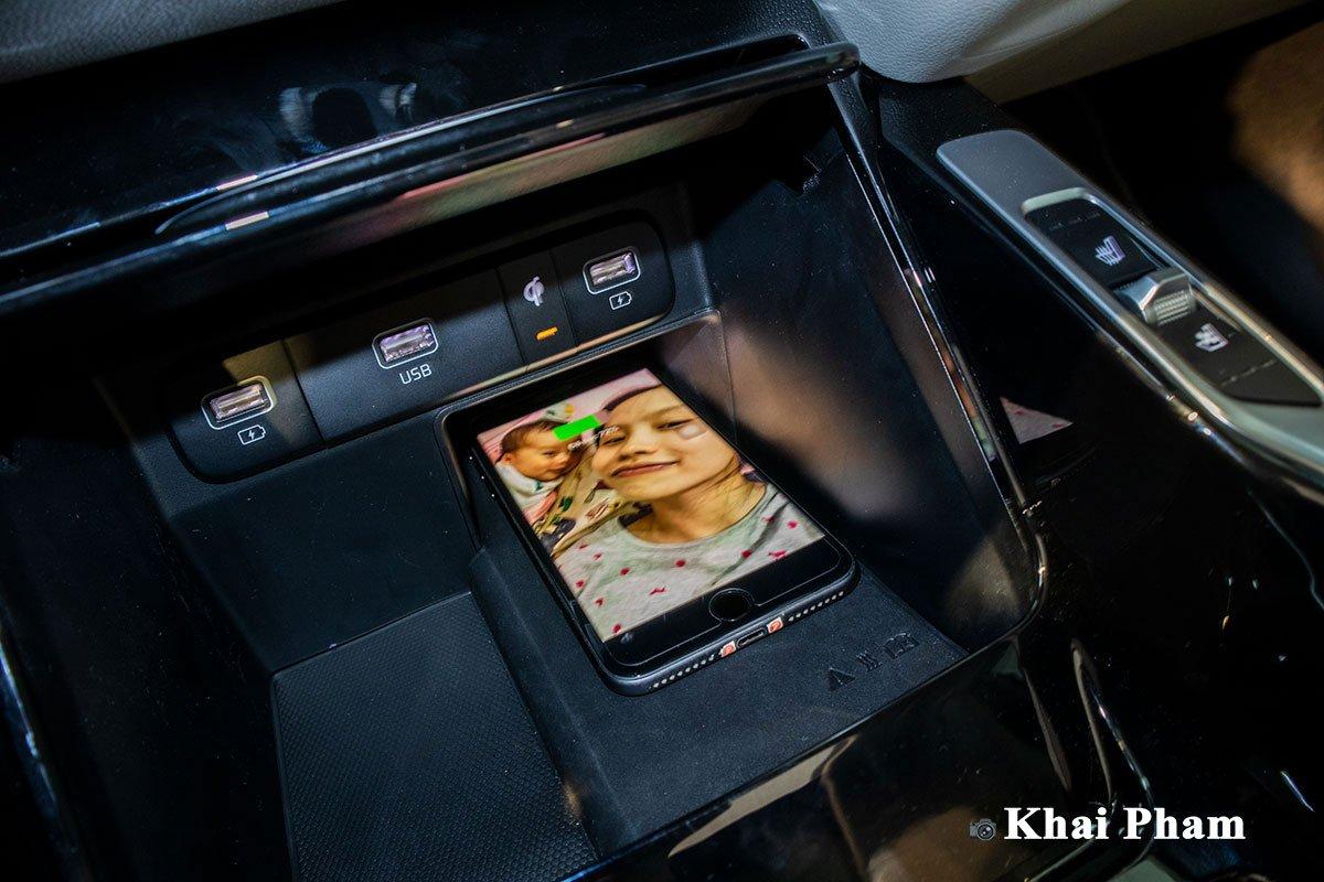 Ảnh Sạc không dây xe Kia Sorento 2020