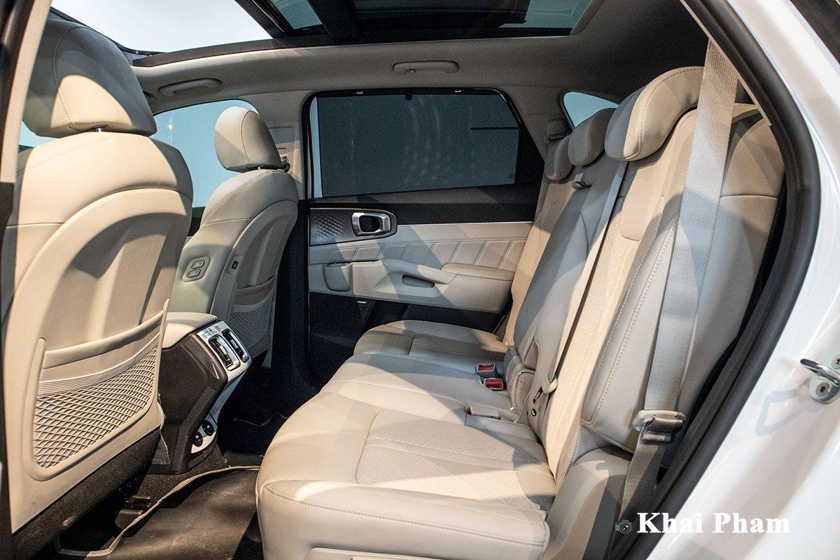 Ảnh Hàng ghế 2 xe Kia Sorento 2020