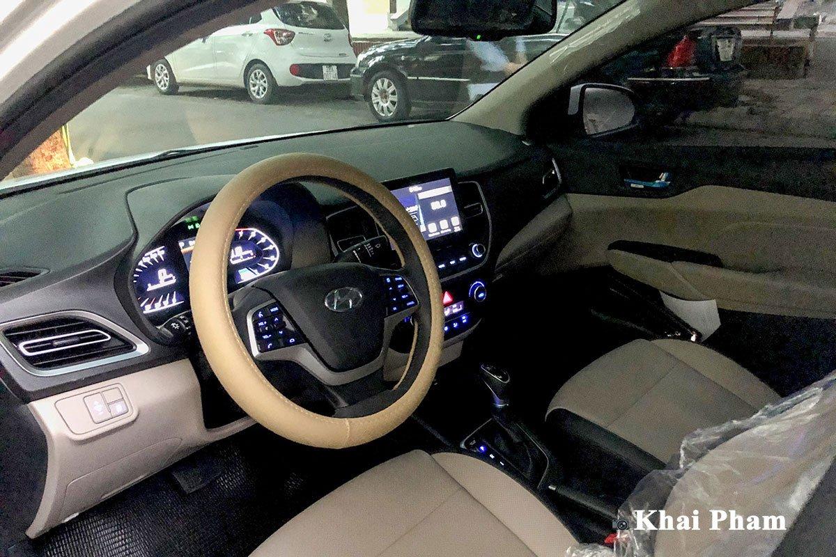 Lộ rõ hình ảnh Hyundai Accent 2021 tại Việt Nam: Đẹp, hiện đại gây áp lực lên Toyota Vios  a1cr5