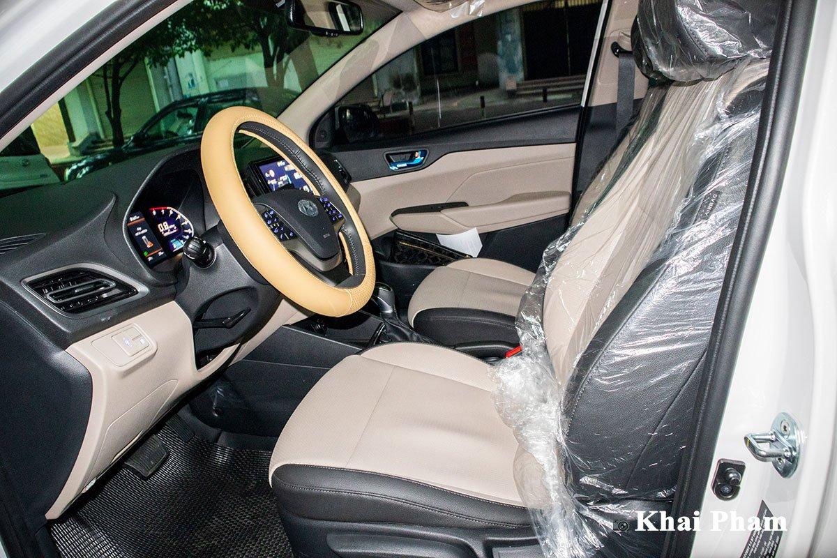Lộ rõ hình ảnh Hyundai Accent 2021 tại Việt Nam: Đẹp, hiện đại gây áp lực lên Toyota Vios  a1cg