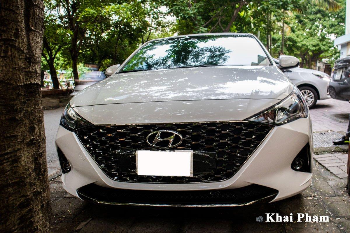 Lộ rõ hình ảnh Hyundai Accent 2021 tại Việt Nam: Đẹp, hiện đại gây áp lực lên Toyota Vios  à4