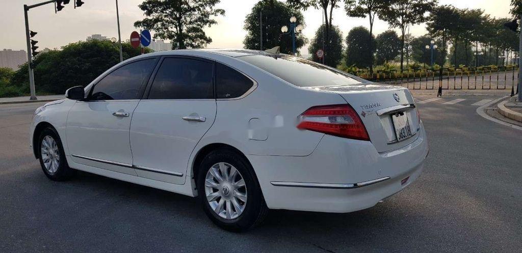 Cần bán xe Nissan Teana sản xuất 2010, màu trắng, nhập khẩu, giá 416tr (3)