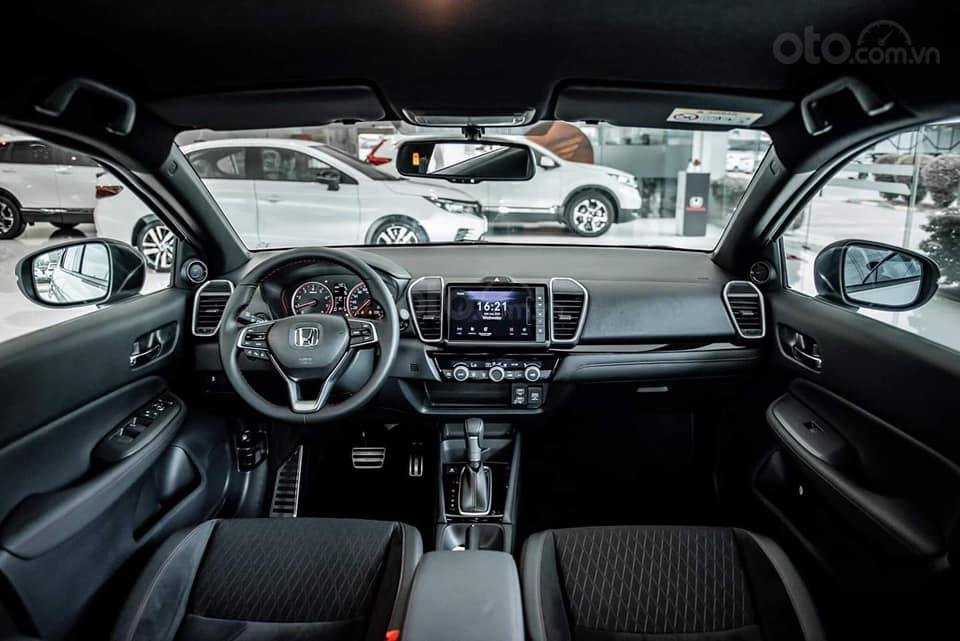 Bán Honda City đời 2021, màu trắng, giao xe toàn quốc (7)
