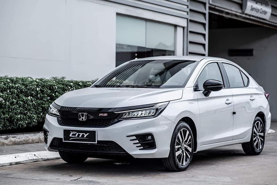 Bán Honda City đời 2021, màu trắng, giao xe toàn quốc (1)