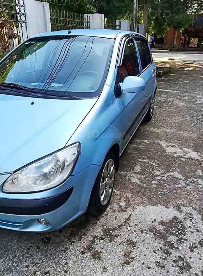 Cần bán Hyundai Getz sản xuất năm 2008, màu xanh lam, xe nhập còn mới (1)
