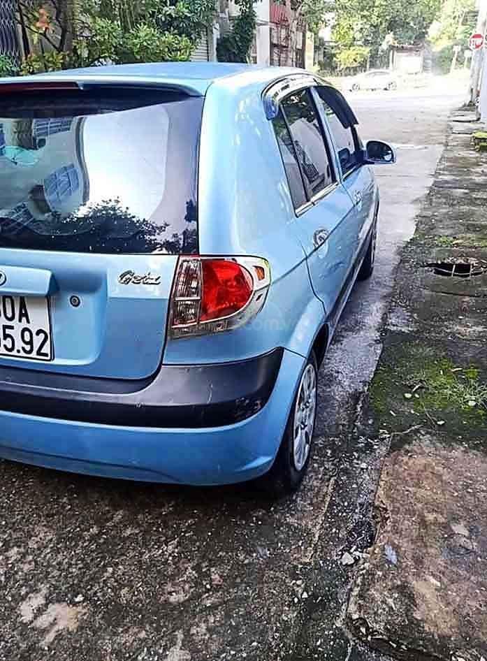 Cần bán Hyundai Getz sản xuất năm 2008, màu xanh lam, xe nhập còn mới (3)