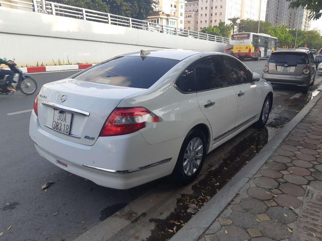 Cần bán xe Nissan Teana sản xuất 2010, màu trắng, nhập khẩu, giá 416tr (5)